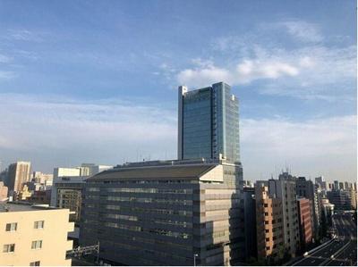 14階建12階部分からの眺望です。