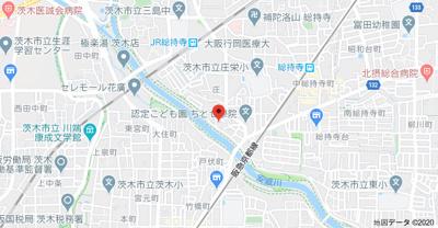 【地図】共栄ハイツ