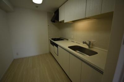 食洗機がついた広々としたキッチンです