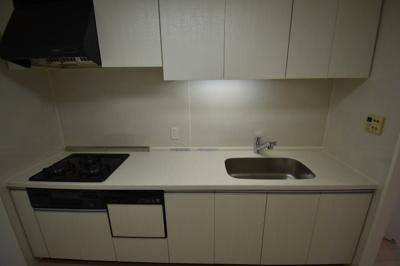 食洗機がついたキッチンです