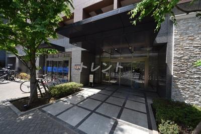 【エントランス】パレステュディオ神楽坂シティタワー