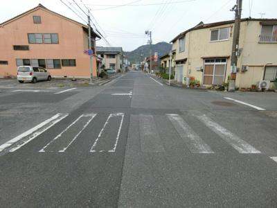 【前面道路含む現地写真】境港市京町売地
