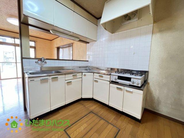 【キッチン】古河市松並2丁目 中古一戸建て