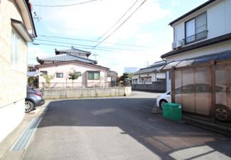 【前面道路含む現地写真】新築 新潟市東区岡山 3LDK