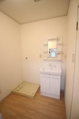 室内洗濯パン・シャンプードレッサーがあります