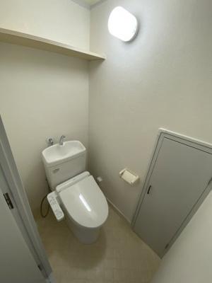 【トイレ】ハイネス生駒