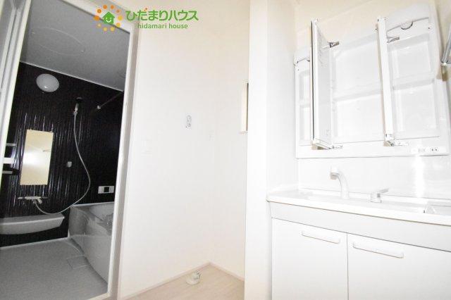【洗面所】鴻巣市原馬室19-1期 新築一戸建て リナージュ 05