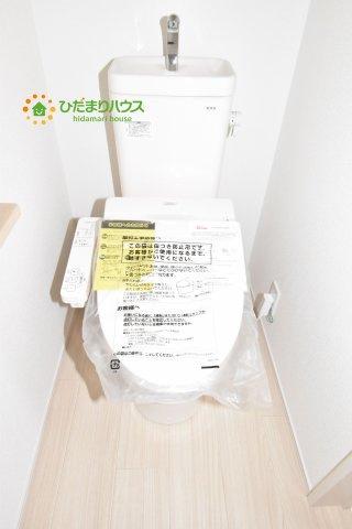 【トイレ】鴻巣市原馬室19-1期 新築一戸建て リナージュ 05