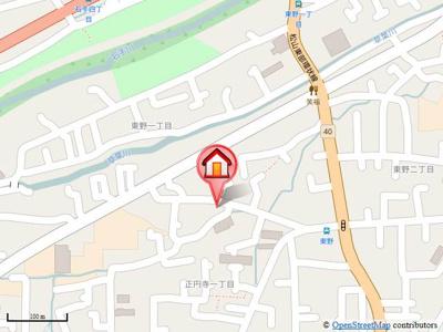 【地図】ルミエール・ド・エスト・