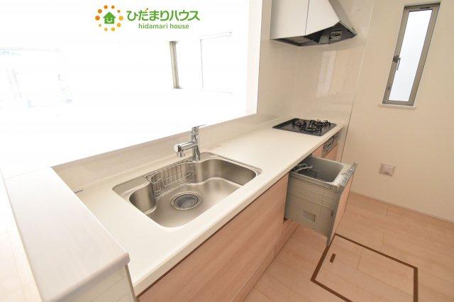 【キッチン】鴻巣市原馬室19-1期 新築一戸建て リナージュ 06