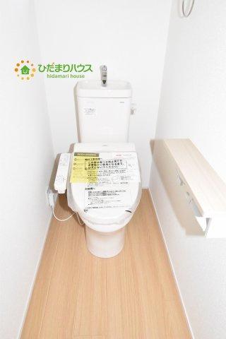【トイレ】鴻巣市原馬室19-1期 新築一戸建て リナージュ 06