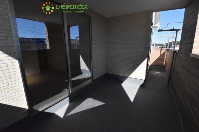 【バルコニー】鴻巣市原馬室19-1期 新築一戸建て リナージュ 06