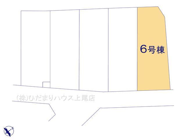 【区画図】鴻巣市原馬室19-1期 新築一戸建て リナージュ 06