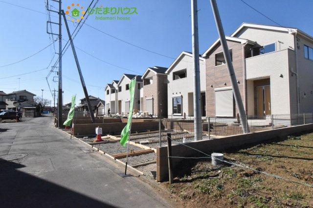 【前面道路含む現地写真】鴻巣市原馬室19-1期 新築一戸建て リナージュ 06