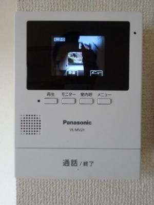 TVモニター付ドアホン