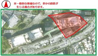 【区画図】沖縄市比屋根7丁目(295.24坪)