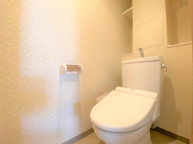 【トイレ】ファミール夕陽ヶ丘学園坂 ☆南東角部屋