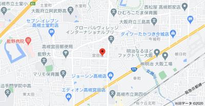 【地図】村田ハイツ