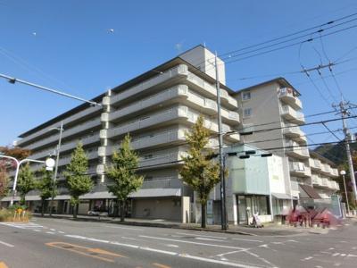 【外観】一乗寺野田町 ハイツ白川 6階【東向き】