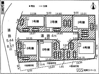【区画図】沼津市岡一色第8 新築戸建 1号棟