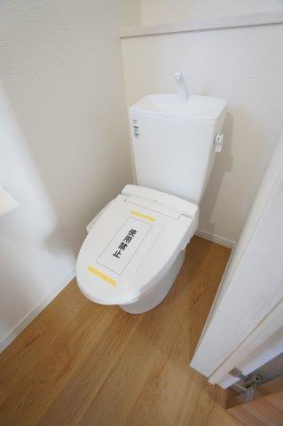 1階 ウォシュレット付きのトイレとなっています。