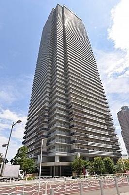 【外観】WコンフォートタワーズWEST 28階部分 112.80㎡ 角 部屋