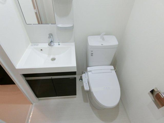 【トイレ】フェルクルールプレスト堀切菖蒲園