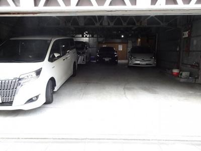 【外観】第1さかえ荘駐車場