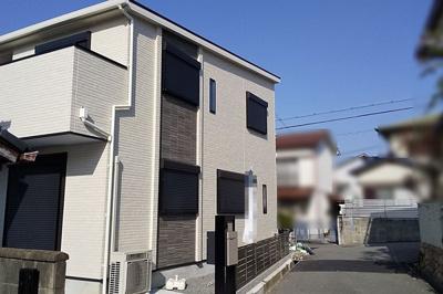 【前面道路含む現地写真】■成約済■神戸市垂水区清水が丘1丁目 1号地 新築戸建