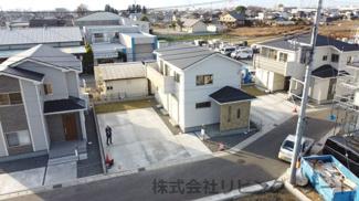 敷地面積212.76平米 カースペース4台分