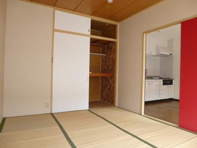 和室→洋室へ