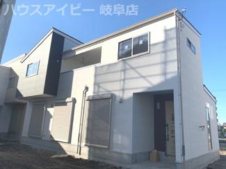 岐阜市六条大溝 新築建売 全2棟 広々シューズクローゼット インナーバルコニー 収納豊富です。
