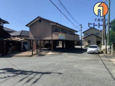 【外観】投資物件)平塚ハイツⅡ