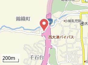 【地図】王子山コーポ