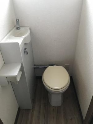 【トイレ】王子山コーポ