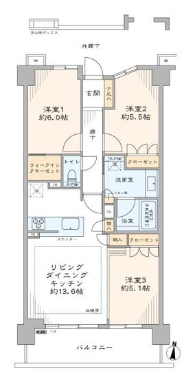 クレアホームズ北浦和楓雅の邸:住設備充実の3LDKリノベーション物件は住宅ローン控除適応物件です!