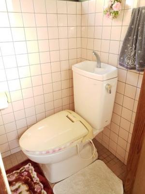 【トイレ】鳥取市佐治町森坪中古戸建て
