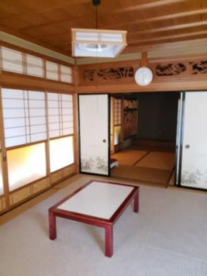 【洋室】鳥取市佐治町森坪中古戸建て