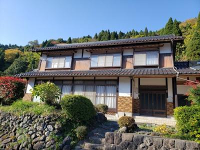 【外観】鳥取市佐治町森坪中古戸建て