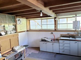 【キッチン】鳥取市佐治町森坪中古戸建て