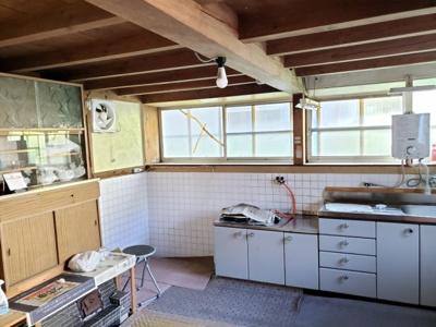 【キッチン】鳥取市佐治町森坪中古戸建