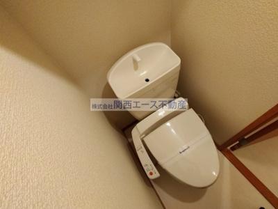 【トイレ】レオパレスIB