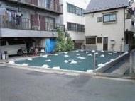 敷地面積 74.82㎡(22.63坪)京浜東北線「鶴見」駅徒歩8分 建築条件なし お好きなハウスメーカーで建築できます 平坦地 南西角地 3階建参考プラン 駐車スペース