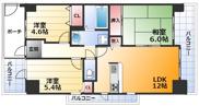 ソシエ北大阪壱期棟の画像