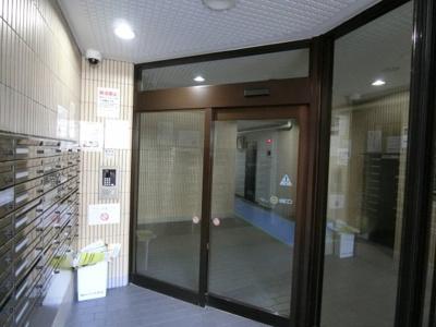 【エントランス】朝日プラザ北新宿