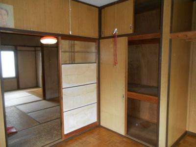 2階和室 押入