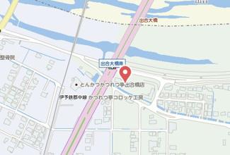 【地図】西川ビル