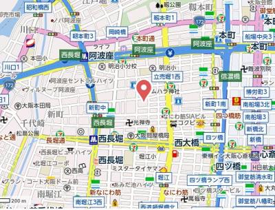 【地図】ルフェール新町