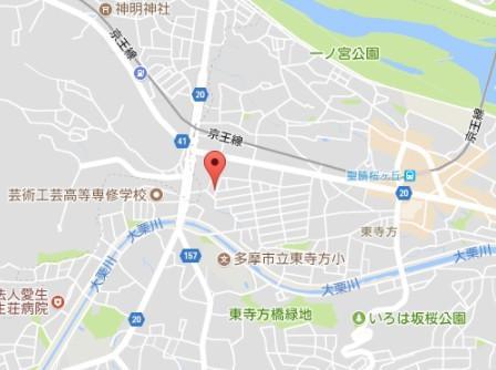 【地図】創