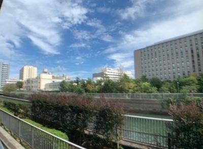 【展望】クレストフォルム門前仲町古石場 空室85.61㎡ 角部屋 2002年築
